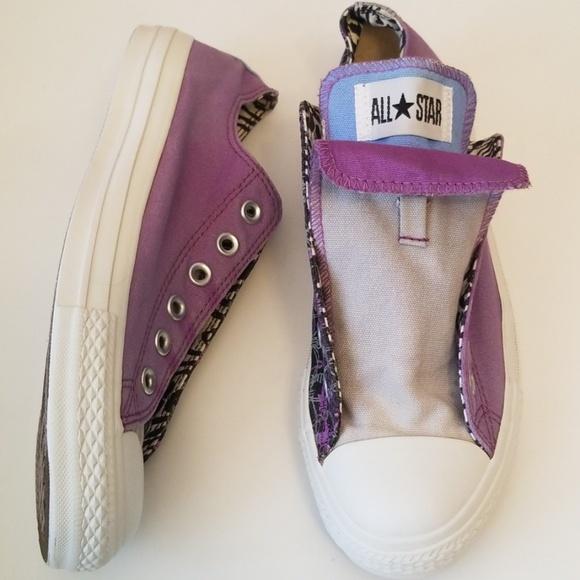 cc7612e471 Converse Shoes | All Star Purple Grey Black Tennisshoe | Poshmark